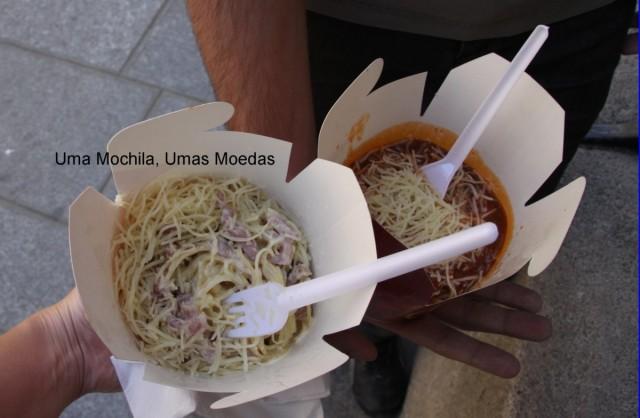Spaghetti Carbonara e Bolognese